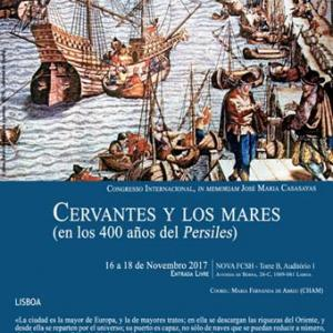 Congreso Internacional «Cervantes y los mares,  en los 400 años del Persiles»